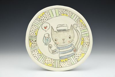 Sailor Cat Lunch Plate