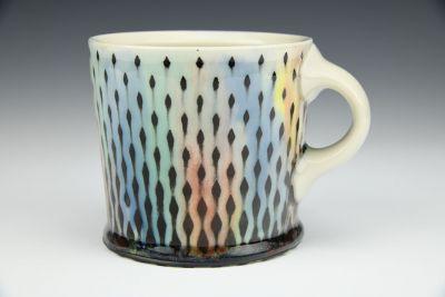 Rainbow Raindrops Mug 2