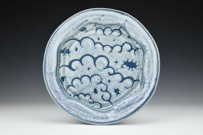 Blue Cloud Dinner Plate
