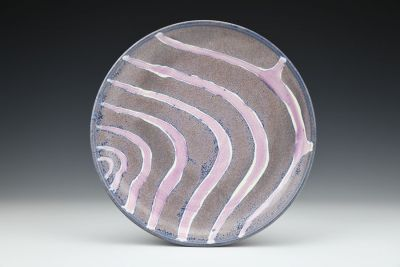 Purple Swoop Plate