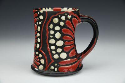 Red Monarch Mug