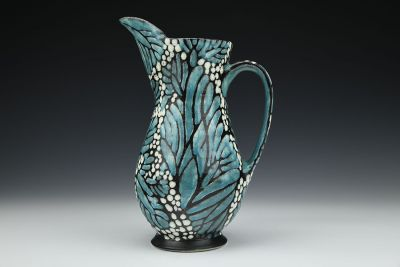 Turquoise Monarch Pitcher