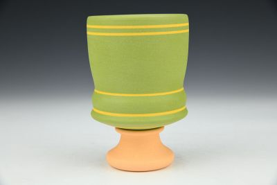 Stemmed Green Cup