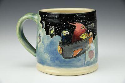 Search of Glowing Sea Mug