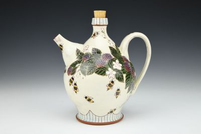 Bees, Berries, and Blossoms Ewer