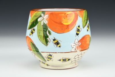Orange Blossom and Honeycomb Drink Cup