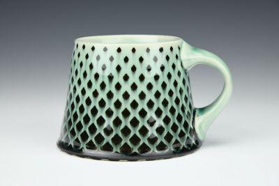 Green Snakeskin Mug