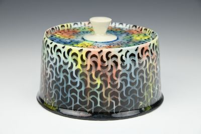 Rainbow Swirls Jar