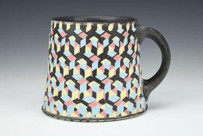 CMY Diamonds Mug