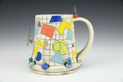 Bead Coaster Mug