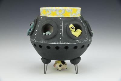 Abduction Tea Bowl
