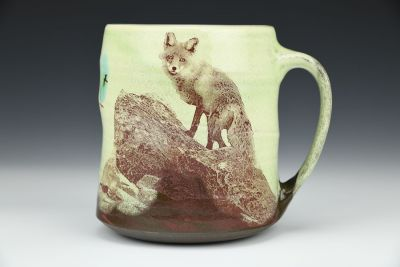 Foxy Green Cup