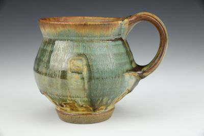 Cup with Moss Glaze