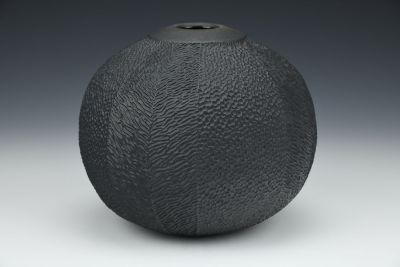 Black Beauty Vase