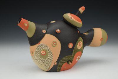 Dancing Geisha Teapot