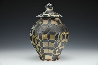Seven Jewels Lidded Jar
