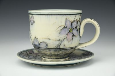 Blossom Latte Cup and Saucer