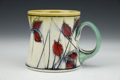 Red Leaf Mug