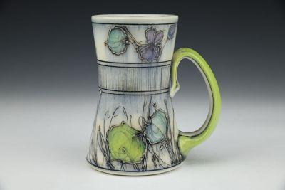 Banded Violets Tall Mug
