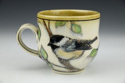 Chickadee Latte Cup
