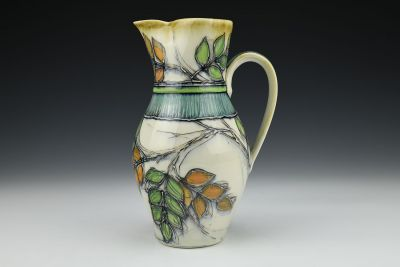 Ash Leaves Pitcher