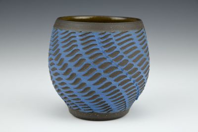 Blue Wavelet Cup