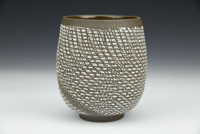 Upcycled Lime Mesh Cup