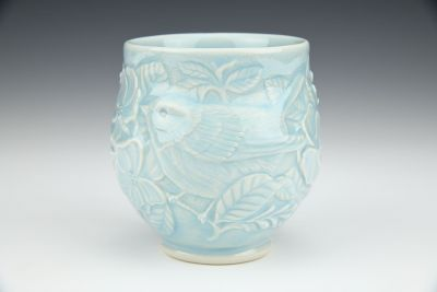 Botanical Bird Cup