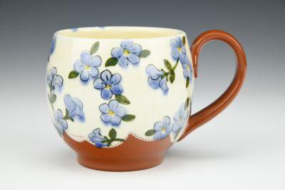 Purple Cappuccino Mug