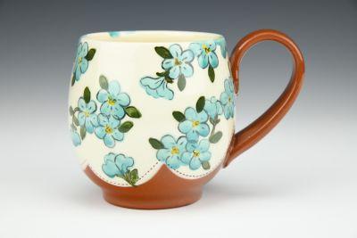 Turquoise Cappuccino Mug