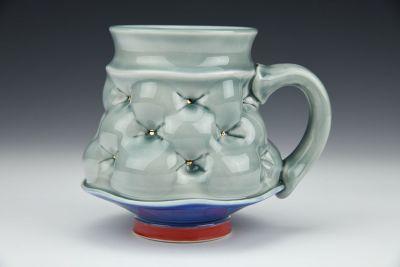 Gray Blue Mug