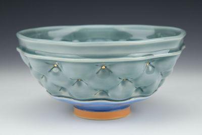 Gray Blue Bowl