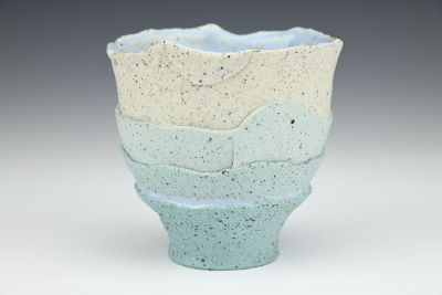 Teal and Shale Gradient Cup