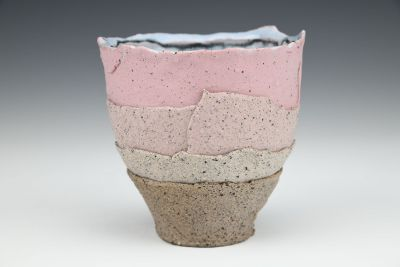 Pink and Shale Gradient Cup