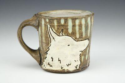 Bike and Dog Mug