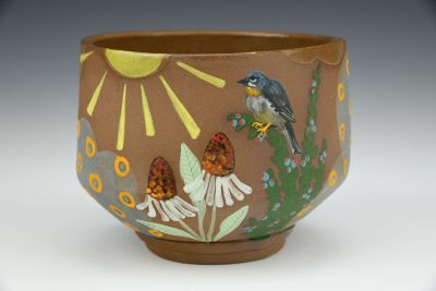 Rufouse-Throated Solitaire Cereal Bowl