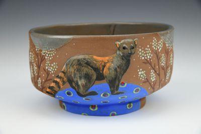 Ring-Tailed Mongoose Medium Bowl