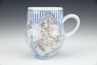 Red, White, and Blue Mug