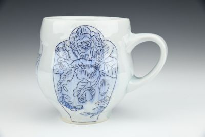 Floral Pattern Mug No.1