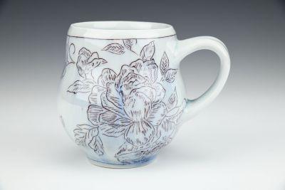 Floral Pattern Mug No.2