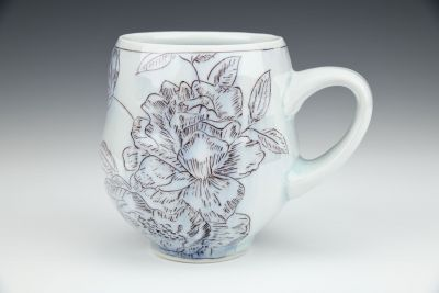 Floral Pattern Mug No.3