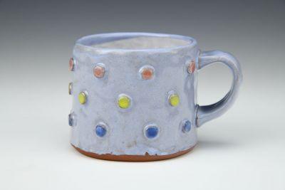 Tri-colored Dot Mug