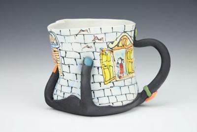 Black Hand Mug