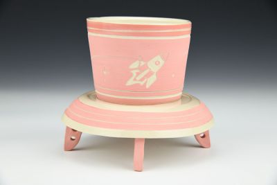 Pink Floating Cup