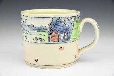 Cabin and Garden Mug