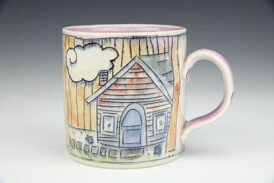 Cabin and Garden Mug 2