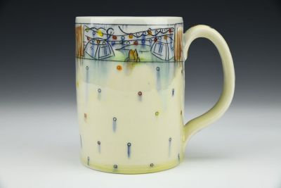 Tents n Dots Stein