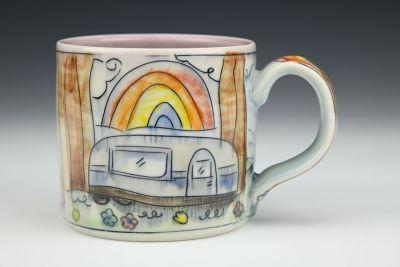 Airstream Rainbow Medium Mug
