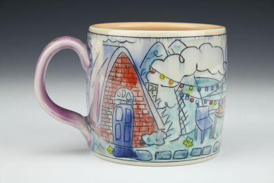 Cabin Twinkle Medium Mug