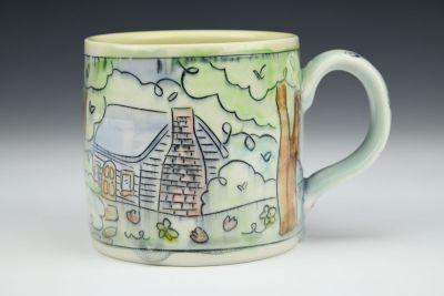 Cabin in the Woods Medium Mug
